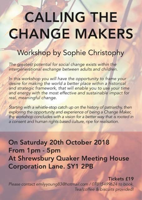 Change Makers October